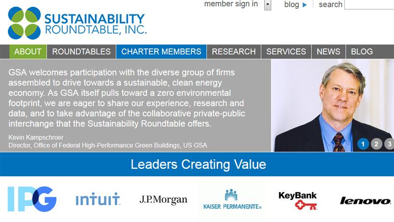 Sustainability Roundtable